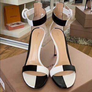Gianvito Rossi, Dama sandals. NWT WITH BOX